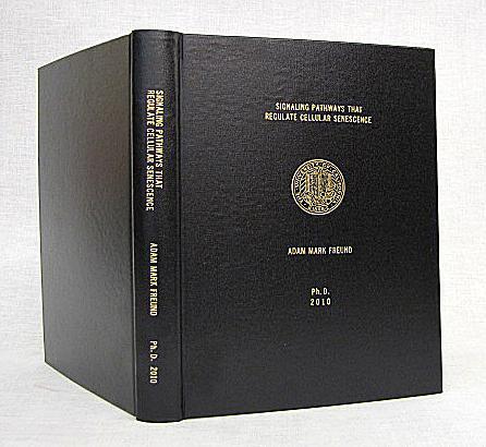 Phd dissertation binding
