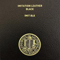 Imitation Leather-Black w/ UC Gold