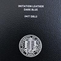 Imitation Leather-Dark Blue